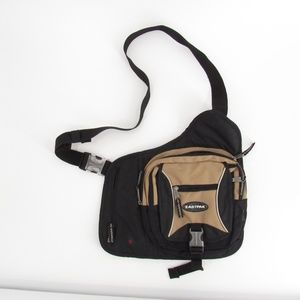 Eastpak Tan/Black Travel Cross-Body Bag
